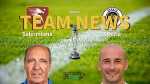 Serie B News: Salernitana vs Spezia Confirmed Line-ups