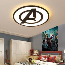 Modern Led Ceiling Lights For Bedroom Study Room Children Room Kids Rom Home Deco Black Blue Ceiling Lamp Leather Bag