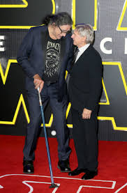 The day I met the man behind Chewbacca Peter Mayhew