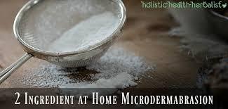 2 ing at home microdermabrasion