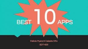 Celeste & Felicia's Best 10 Apps