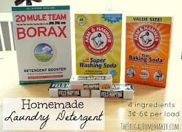homemade laundry detergent the frugal