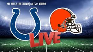 Indianapolis Colts vs Cleveland Browns ...