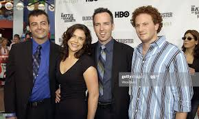 Director Kyle Rankin, writer Erica Beeney, director Efram Potelle and...  News Photo - Getty Images