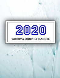 planner weekly and monthly jan to dec