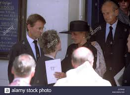 Royalty - Princess of Wales - Funeral of Adrian Ward-Jackson Stock Photo -  Alamy