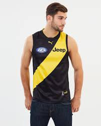 Richmond Tigers 2018 AFL Home Jersey by ...