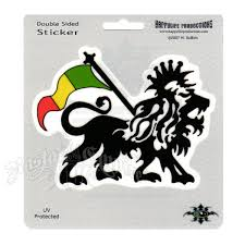 Rasta Lion Window Sticker Rastaempire Com