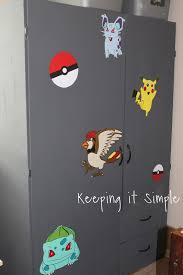 Diy Pokemon Decals For Boys Bedroom Wardrobe284292 Keeping It Simple