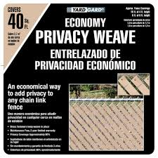 Yardgard 4 Ft H X 250 Ft W Beige Economy Vinyl Fence Weave 330250wbg The Home Depot In 2020 Vinyl Fence Fence Weaving Fence