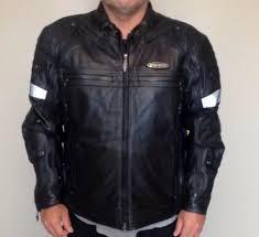 fxrg switchback leather jacket black