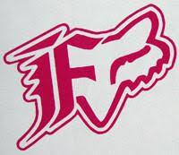 Fox Racing Dual Sticker Sticker Blimp Decals