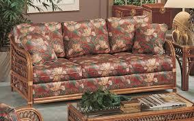 caliente rattan sleeper sofa