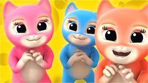 Meo Meo Meo Rửa Mặt Như Mèo ♥ Nhạc Thiếu Nhi Mèo Con Cho Bé ...