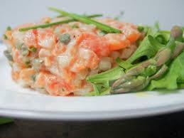 Salmon tartare - Caroline's Cooking