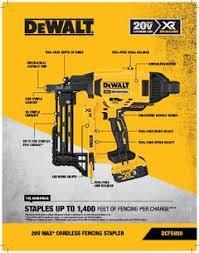 Dewalt Power Staplers Capacity 35 Crown Size Inch 1 2 11683737 Msc Industrial Supply