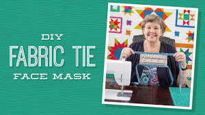 DIY Fabric Tie Face Mask with Jenny ...