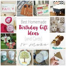 best homemade birthday gift ideas