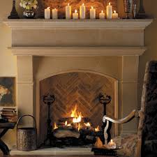 normandy cast stone fireplace mantels