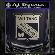 Wu Tang Killer Bees Badge Decal Sticker A1 Decals