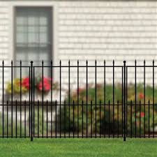 Grand Empire Fence Panel And Gate Sections 56 In Grand Empire Fence Post And Stake Unit Lowe S Canada The Best Inspiration