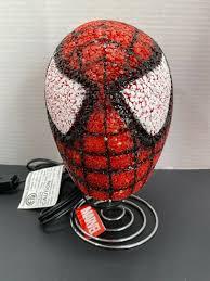 Marvel Spiderman Kids Bedroom Table Popcorn Lamp Night Light Spider Man Head For Sale Online