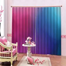 2020 Blackout Curtains For Kids Room Color Curtains 3d Window Curtain Bedroom Drapes Cortina From Raymonu 210 24 Dhgate Com