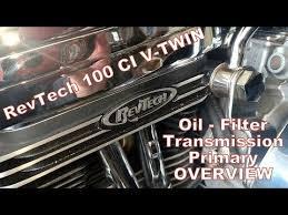revtech 100cu v twin fluid change