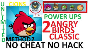 angry birds classic unlimited coins and power ups no cheat no hack method 2  - YouTube