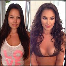 37 photos taken before and after makeup