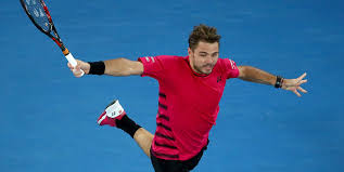 Stan Wawrinka unleashes his trademark one-handed backhand; Getty ...