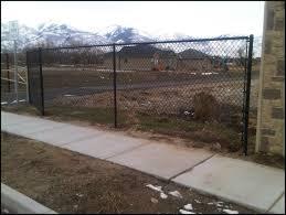 6ft Black Chain Link Fence Black Chain Link Fence Chain Link Fence Gate Chain Link Fence Panels