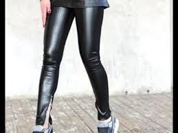 faux leather pants men you