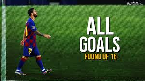 Champions League Goals 2020 ○ Round of 16