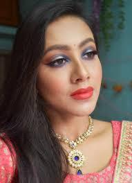 indian wedding party makeup