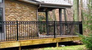 railing porch stone mills fence co