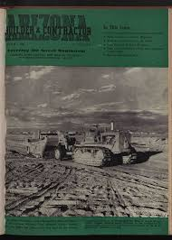 Arizona Builder And Contractor March 1943 Vol 5 No 8 Arizona Periodicals And Magazines Arizona Memory Project
