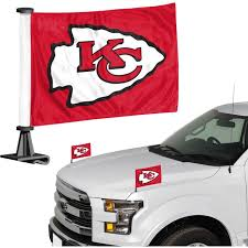Kansas City Chiefs Auto Ambassador Flag Set
