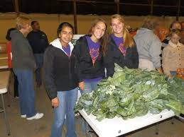 Central Cambria School District News: Central Cambria Students Assist at  Local Food Bank