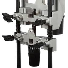 Bosch Deluxe Router Edge Guide Accessory With Dust Extraction Hood And Vacuum Hose Adapter Ra1054 The Home Depot