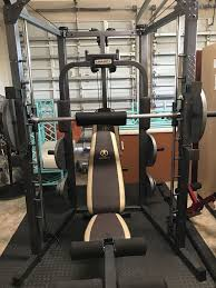 Marcy Smith Cage Machine with Workout Bench and Weight Bar Home Gym  Equipment SM-4008 for Sale in Southwest Ranches, FL - OfferUp