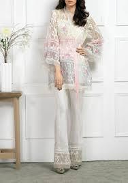 pastel organza angrakha style jacket