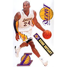 Amazon Com Skyhighprint Los Angeles Lakers Nba Sport Decor Vinyl Print Sticker 6 X 2 Kitchen Dining