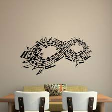 Music Notes Staff Decal Music Staff Decor Music Lover Wall Decal