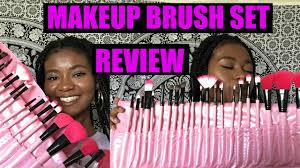 beginner makeup brush set review