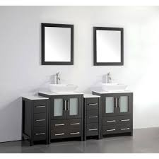 double sink bathroom vanity with mirror