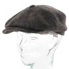stetson hats harris tweed flat cap