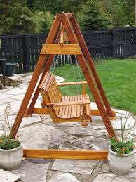 diy how to build a frame porch swing