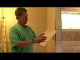 how to prepare bathroom walls for tile