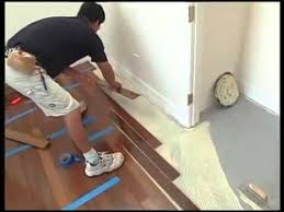 installing hardwood floors over